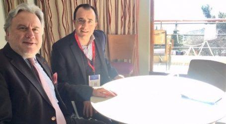 Κατρούγκαλος: Θερμή και ουσιαστική συνάντηση με τον Χριστοδουλίδη