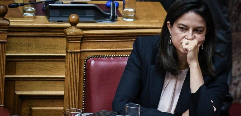 η υπουργός Παιδείας και Θρησκευμάτων, βουλευτής Βόρειου Τομέα Αθηνών της ΝΔ, Νίκη Κεραμέως