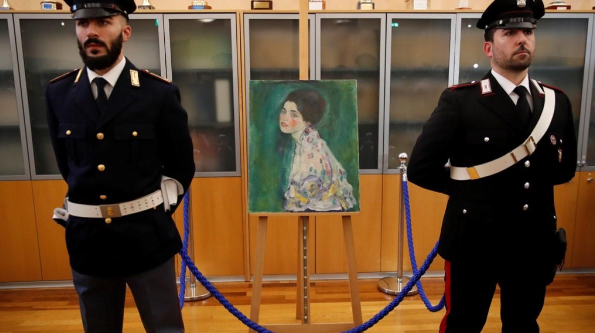 Ιταλία: Αυθεντικό έργο του Κλιμτ ο πίνακας που βρέθηκε στο σύστημα εξαερισμού μουσείου