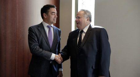 O N. Ντιμιτρόφ εξέφρασε την ικανοποίησή του για τη συνεργασία που είχε με τον Ν. Κοτζιά