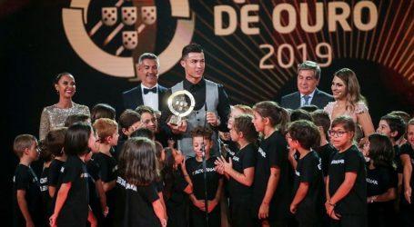 Κορυφαίος Πορτογάλος ποδοσφαιριστής ο Κριστιάνο Ρονάλντο για δέκατη φορά (vid)