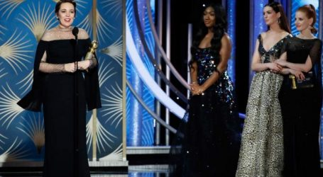 Χρυσές Σφαίρες: Α' Γυναικείου Ρόλου στην Ολίβια Κόλμαν για το «The Favourite» του Λάνθιμου