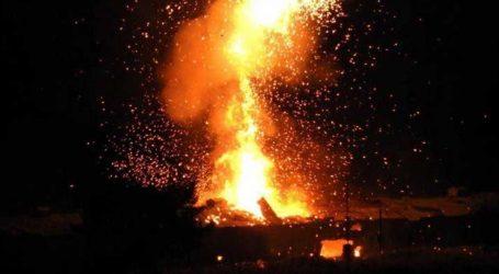 Κατεχόμενα : Εκρήξεις σε αποθήκη πυρομαχικών – Υπάρχουν τραυματίες (vid)