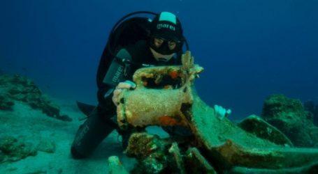ΥΠΠΟΑ: Σημαντικά ευρήματα από την ενάλια αρχαιολογική έρευνα στη νήσο Λέβιθα