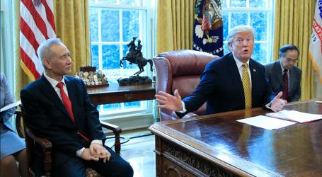 Συνάντηση Τραμπ με τον αντιπρόεδρο της Κίνας στον Λευκό Οίκο