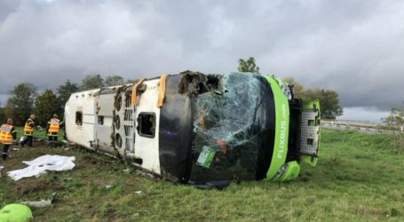 Βρετανία: 33 τραυματίες σε τροχαίο ατύχημα με λεωφορείο που είχε προορισμό το Λονδίνο