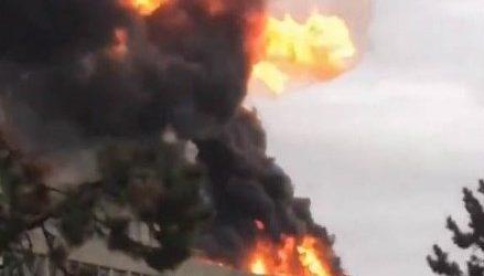 Λυών: Φωτιά στη στέγη πανεπιστημιακού κτιρίου