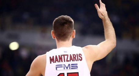 Παρελθόν από τον Ολυμπιακό ο Μάντζαρης – Συνεχίζει στην Ούνικς
