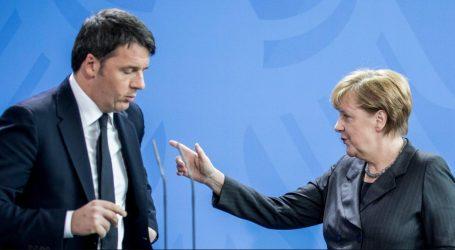 """Η ΕΕ στηρίζει το ενδεχόμενο μίας """"Μεγάλης Συμμαχίας"""" Μπερλουσκόνι- Ρέντσι"""