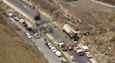 Μεξικό: Τουλάχιστον 21 νεκροί και 30 τραυματίες σε τροχαίο