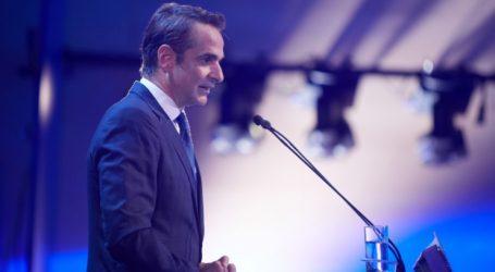 Ο Μητσοτάκης παρουσίασε το κυβερνητικό σχέδιο της ΝΔ για τις νέες υποδομές