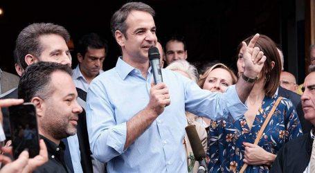 Μητσοτάκης: Ζητώ ισχυρή πολιτική εντολή, ώστε να μπορέσω να εφαρμόσω απρόσκοπτα το σχέδιό μου