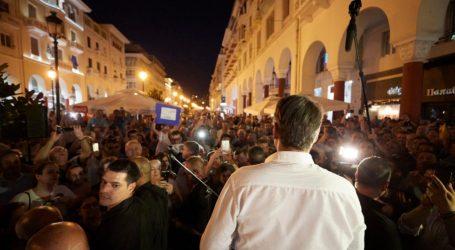 Μητσοτάκης: Η νίκη θα ξεκινήσει από τη Θεσσαλονίκη
