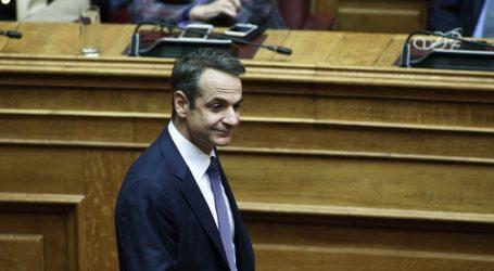 Ψηφίστηκε το νομοσχέδιο για ΕΝΦΙΑ και 120 δόσεις – Μητσοτάκης: Το φορολογικό ν/σ μπορεί να χαρακτηριστεί ως η ταυτότητα της νέας κυβέρνησης