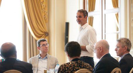 Μητσοτάκης: Προτεραιότητα της κυβέρνησης η προσέλκυση επενδύσεων