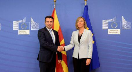 ΠΓΔΜ: Αισιοδοξία Μογκερίνι και Ζάεφ για λύση στο θέμα της ονομασίας