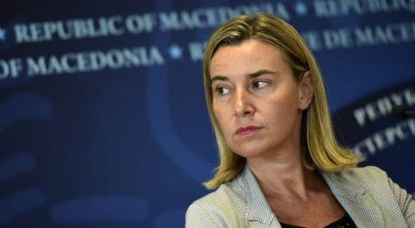 Μογκερίνι: Η ΕΕ θα στηρίξει τα επόμενα βήματα της συμφωνίας Αθήνας- Σκοπίων