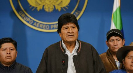 Στην Αργεντινή ο πρώην πρόεδρος της Βολιβίας, Έβο Μοράλες