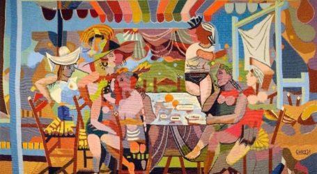 Ελληνική ζωγραφική και ταπισερί «υφαίνονται» σε έκθεση στο Μουσείο Μπενάκη έως 16/02