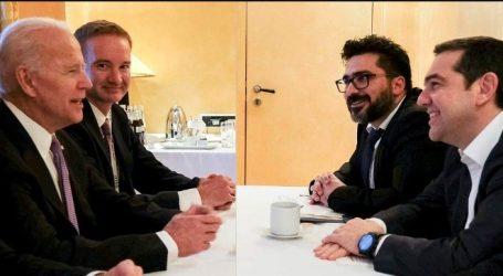 Μακρά συζήτηση Τσίπρα – Μπάιντεν στο περιθώριο της Διάσκεψης για την Ασφάλεια
