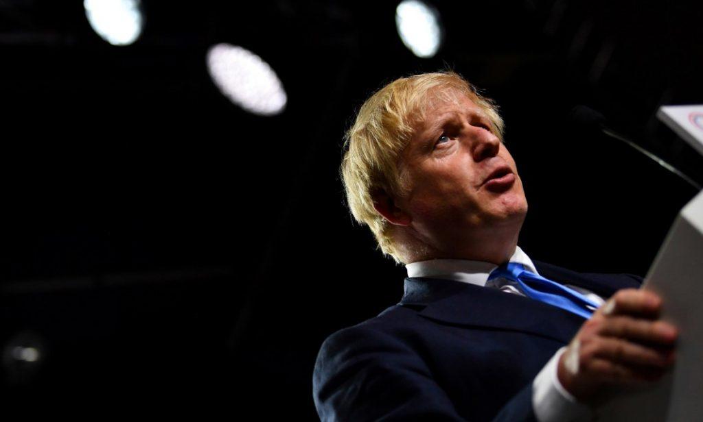 Ο Βρετανός πρωθυπουργός Μπόρις Τζόνσον