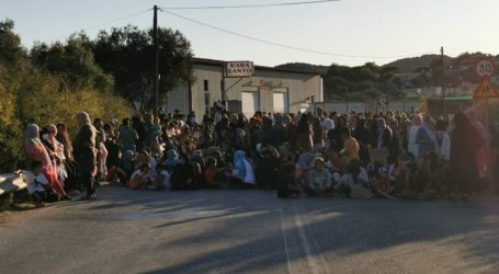 Μυτιλήνη   «Azanti»: Διαδήλωση αιτούντων άσυλο που ζητούν άμεση μετακίνηση στην Αθήνα και «δικαιοσύνη»