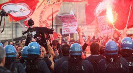 «Αυτή η Λέγκα είναι ένα όνειδος» | Ανεπιθύμητος ο Σαλβίνι στη Νάπολη: Διαδηλώσεις και επεισόδια με την αστυνομία (vid)
