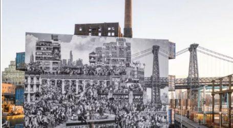 «Τα Χρονικά της Νέας Υόρκης», μια τοιχογραφία με περισσότερους από 1.000 Νεοϋρκέζους