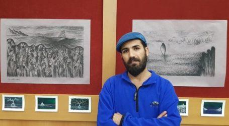 Η προσφυγιά «πρωταγωνιστής» στα έργα του ζωγράφου Μοχάμεντ Νακάμ