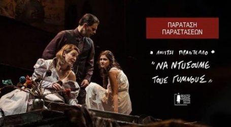 Από αύριο και μέχρι τις 26 Μαρτίου «Να Ντύσουμε τους Γυμνούς», σε σκηνοθεσία Γιάννου Περλέγκα στη σκηνή της Φρυνίχου του Θεάτρου Τέχνης Καρόλου Κουν