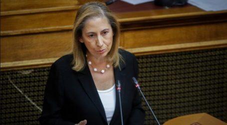 Ξενογιαννακοπούλου: Το διακύβευμα είναι ισχυρό και καθαρό – Ο ελληνικός λαός έχει και μνήμη και κρίση.