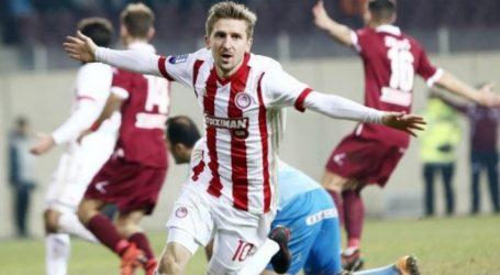 Στην κορυφή της Super League ο Ολυμπιακός | 0-3 στη Λάρισα