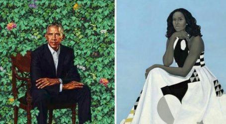 Τα πορτραίτα του ζεύγους Ομπάμα στη National Portrait Gallery