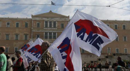 Συλλαλητήριο συνδικάτων στην Αθήνα