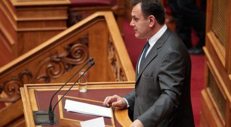Παναγιωτόπουλος: Αυτονόητο ότι δεν πρόκειται να ανεχθούμε αμφισβητήσεις κυριαρχικών μας δικαιωμάτων