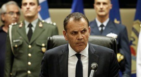 Παναγιωτόπουλος: Θα διασφαλίσουμε δια της αποτρεπτικής ισχύος των ενόπλων δυνάμεων μας ότι η πατρίδα είναι ασφαλής