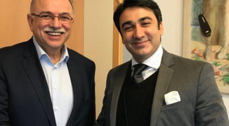Συνάντηση Παπαδημούλη με τον πρέσβη της Βολιβίας