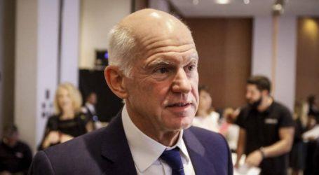 Ο Παπανδρέου απέκλεισε κάθε ενδεχόμενο συνεργασίας με τον ΣΥΡΙΖΑ