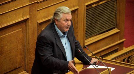 Παπαχριστόπουλος: Δεν θα συμβάλλω με κανέναν τρόπο στο να πέσει η κυβέρνηση
