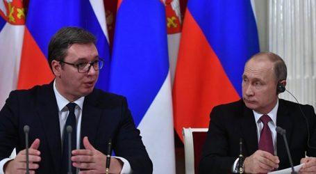 Επίσημη επίσκεψη Πούτιν στη Σερβία