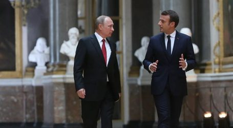 Συμφωνία Μακρόν – Πούτιν για ενίσχυση των προσπαθειών διάσωσης της συμφωνίας με το Ιράν για τα πυρηνικά