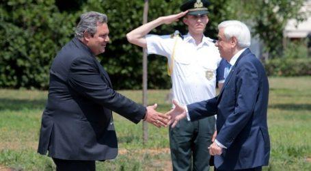 Επίσκεψη ΠτΔ στο Υπουργείο Εθνικής Άμυνας