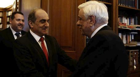 Συνάντηση ΠτΔ με τον πρόεδρο της κυπριακής βουλής