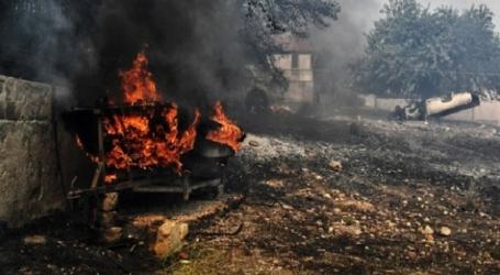 ΓΓΠΠ: Πολύ υψηλός κίνδυνος πυρκαγιάς για σήμερα Δευτέρα
