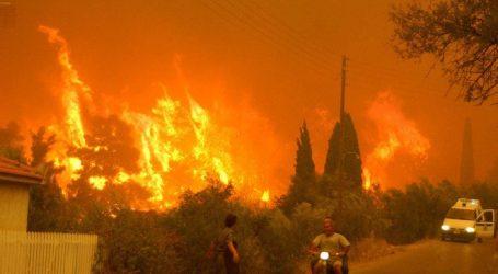 Πολύ υψηλός κίνδυνος πυρκαγιάς για σήμερα, Δευτέρα