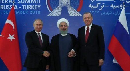 Συνάντηση Πούτιν, Ερντογάν, Ροχανί στην Άγκυρα