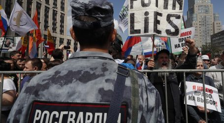 Μόσχα: 40.000 άνθρωποι διαδηλώνουν ζητώντας ελεύθερες εκλογές