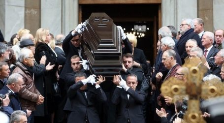 Το τελευταίο αντίο στον Δημήτρη Σιούφα
