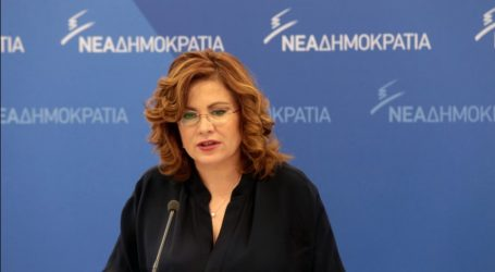 Σπυράκη: Όλοι πια έχουν καταλάβει ότι ο Καμμένος εκβιάζει τον Τσίπρα