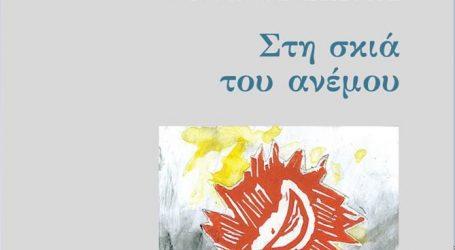 """Έρχεται η νέα ποιητική συλλογή του Ντίνου Σιώτη, """"Στη σκιά του ανέμου"""", με εξώφυλλο του Γιάννη Ψυχοπαίδη"""